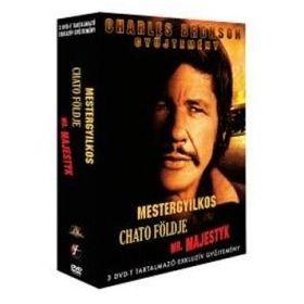 Charles Bronson gyűjtemény (3 DVD)