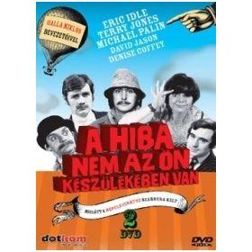 Monty Python - A hiba nem az ön készülékében van (2 DVD)