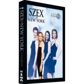 Szex és New York - 2. évad (3 DVD)
