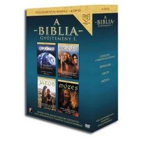 Biblia Gyűjtemény I. (4 DVD)