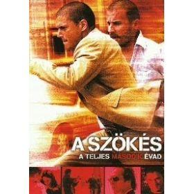 A szökés - 2. évad (6 DVD)
