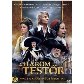 A három testőr, avagy a királynő gyémántja (DVD)